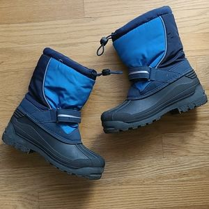 Size 3 kids Lands End boots